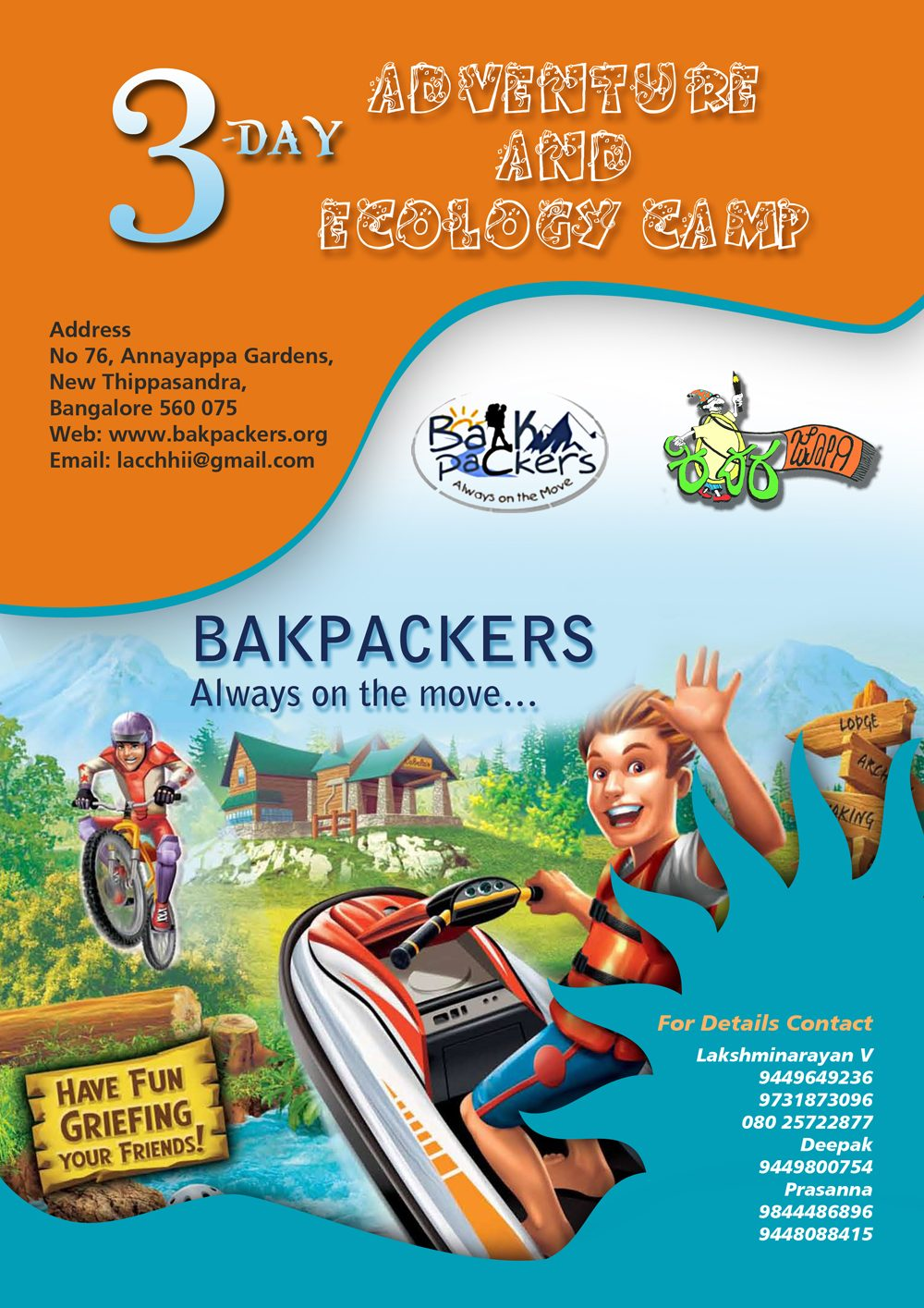 Adventure and Ecology Camp