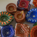 Time for Diyas to get Coloured